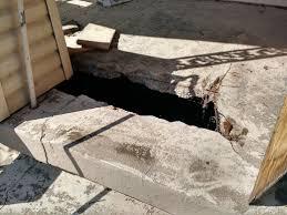 Repair Concrete Patio Cracks Damage How To Repair My Concrete Slab Porch Home Improvement
