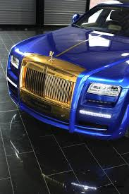 rolls royce gold mansory rolls royce ghost upgrades in white and electric blue gold