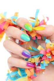 rainbow ombre nail art tutorial on brit co