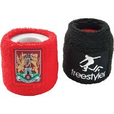 sweat bands promotional branded wristbands