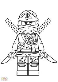 lego ninjago green ninja coloring free printable coloring