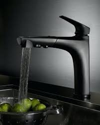kitchen faucets black black kitchen faucets pull out spray snaphaven