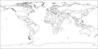 free world maps vector world map free
