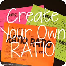 easy whole group activity or stations with ratios students create