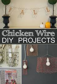 10 things to make with chicken wire for the home chicken wire