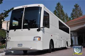 party bus prom legend limousines inc white diamond 40 passenger limo bus 40