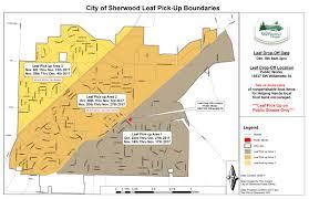 curbside leaf pick up program city of sherwood oregon