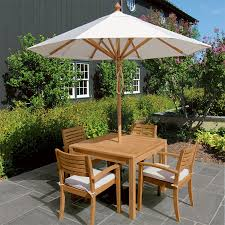 8 Ft Patio Umbrella Teak Patio Umbrellas 8 Ft Octagon Umbrella With Canopy