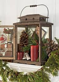 Decorative Christmas Trees For Mantels by 50 Gorgeous Holiday Mantel Decorating Ideas Midwest Living