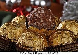 christmas chocolates christmas chocolates closeup a macro photo of christmas