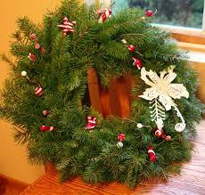 diy fresh christmas wreaths the ramblings of an aspiring small