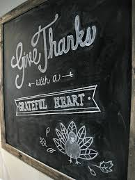 thanksgiving drawing chalkboard thanksgiving blessings