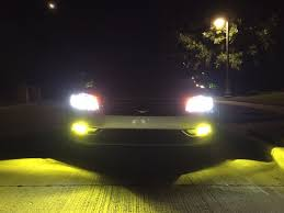 audi headlights in dark yellow 3000k led fog lights for all volkswagen u0026 audi car models