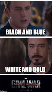 Exles Of Internet Memes - cap v stark dawn of the dress thedress what color is this