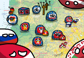 Map Of Lithuania Countryballs Map Of Lithuania Countryballs