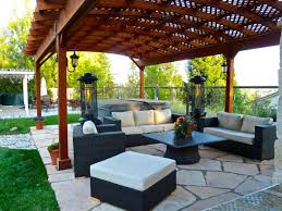 Pergola Material List by Simple Pergola With Lattice On One Side And Top Painted White To