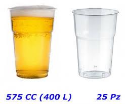 costo bicchieri di plastica bicchieri plastica cristal diamant per birra 575 cc 400l pz 25