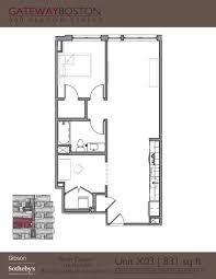 Gateway Floor Plan by Gateway Boston 900 Beacon Street Boston