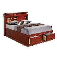 bookcase beds cymax stores