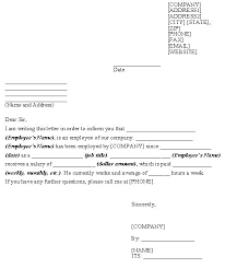 Sle Verification Letter For Tenant Letter For Work Verification 100 Images Employment