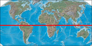 map of equator map of the with equator my
