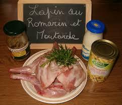 cuisiner lapin entier lapin au romarin et moutarde à l ancienne la cuisine ma