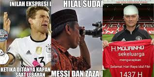 Kumpulan Meme - kumpulan meme lebaran ala dunia sepakbola bola net