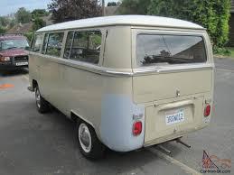 1969 vw volkswagen deluxe bus with original savannah beige paint van