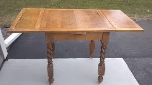 antique table with hidden leaf fab rehab creations antique table with hidden leaves and a bonus