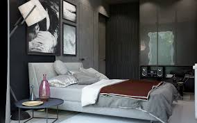 Masculine Decorating Ideas by Dark Color Bedroom Decorating Ideas Shows A Luxury And Masculine