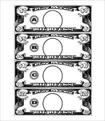 play money template free u0026 premium templates