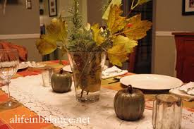 table decorations thrifted and dollar store decor