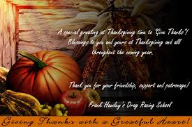 happy thanksgiving blessing happy thanksgiving from frank hawley u0027s drag racing