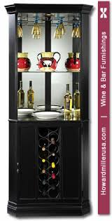 Black Bar Cabinet 690003 Howard Miller Wine Bar Black Corner Cabinet Piedmont