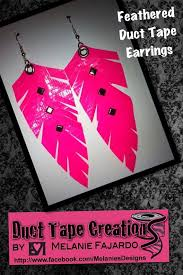 duct earrings 60 best duct jewelry images on duct jewelry
