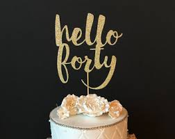 hello cupcake toppers any name number happy birthday cake topper glitter cake