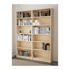 Double Bookcase Billy Bookcase Brown Ash Veneer Ikea