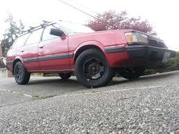 subaru loyale lifted drilling hubs and wheel tire sizing old gen 80 u0027s gl dl xt