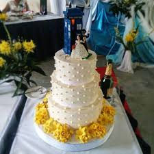 tardis cake topper craft with cee