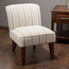 Striped Slipper Chair Accent Slipper Chairs Foter