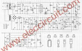45v 8a dc switching power supply circuit project the full diagram