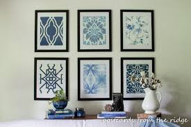 28 affordable diy artwork ideas postcards from the ridge