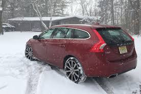 lexus awd in snow 2015 volvo v60 t5 first time in snow