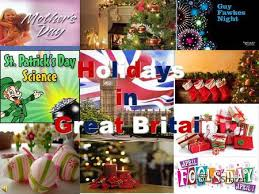 презентация на тему holidays in the uk in great britain there