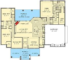 and bathroom house plans his and bathrooms 55137br architectural designs house plans