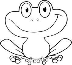 frog coloring pages preschool kindergarten animal coloring