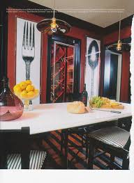Red Kitchen Walls by Kitchen Showing Deep Red Walls With Black Enameled Trimwork