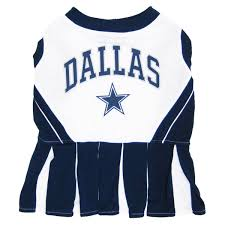 Cheerleader Costume Halloween Amazon Pets Dallas Cowboys Pet Cheerleader Uniform