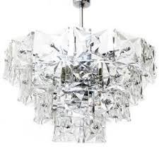 Crystal And Chrome Chandelier Striking German 5 Tier Chandelier W Chrome Frame And Molded