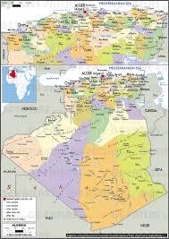 algeria physical map geoatlas countries algeria map city illustrator fully
